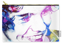 Harry Styles - One Direction Carry-all Pouch by Doc Braham