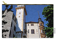 Carry-all Pouch featuring the photograph Hartenfels Castle - Torgau Germany by Mark Madere