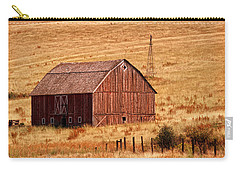 Harvest Barn Carry-all Pouch by Mary Jo Allen