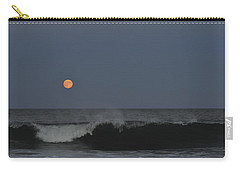 Harvest Moon Seaside Park Nj Carry-all Pouch by Terry DeLuco