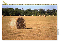 Carry-all Pouch featuring the photograph Harvest Time by Gordon Elwell