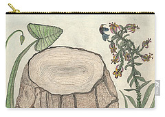 Carry-all Pouch featuring the painting Harvested Beauty by Kim Pate