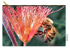 Carry-all Pouch featuring the photograph Harvesting by Deb Halloran