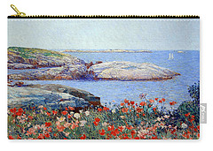 Hassam's Poppies On The Isles Of Shoals Carry-all Pouch