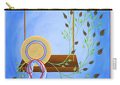 Hat On A Swing Carry-all Pouch by Ron Davidson