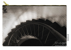 Carry-all Pouch featuring the photograph Hatteras Staircase by Angela DeFrias