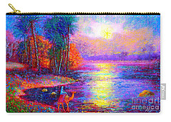 Haunting Star Carry-all Pouch by Jane Small