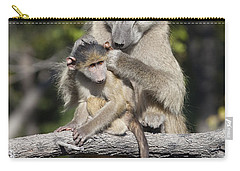Carry-all Pouch featuring the photograph Have You Cleaned Behind Your Ears by Liz Leyden