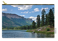 Carry-all Pouch featuring the photograph Haviland Lake by Janice Rae Pariza