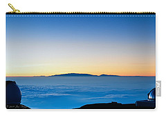 Carry-all Pouch featuring the photograph Hawaii Sunset by Jim Thompson