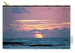 Carry-all Pouch featuring the photograph Hawaiian Ocean Sunrise by Lehua Pekelo-Stearns