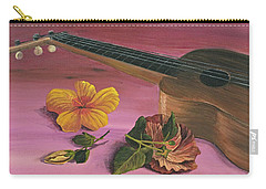 Hawaiian Ukulele Carry-all Pouch by Darice Machel McGuire