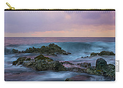 Hawaiian Waves At Sunset Carry-all Pouch