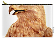 Hawk Carry-all Pouch by Terry Frederick
