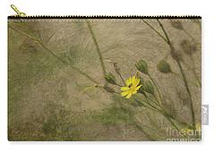 Hawksbeard Carry-all Pouch by Liz  Alderdice