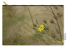 Carry-all Pouch featuring the photograph Hawksbeard by Liz  Alderdice