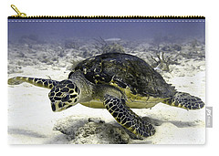 Hawksbill Caribbean Sea Turtle Carry-all Pouch