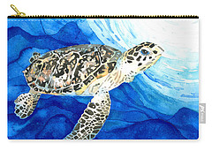Hawksbill Sea Turtle 2 Carry-all Pouch