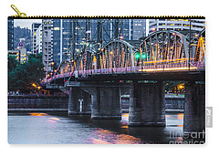 Hawthorne Bridge Portland Oregon Carry-all Pouch