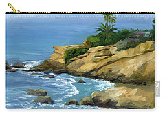 Hazy Laguna Morning Carry-all Pouch by Alice Leggett