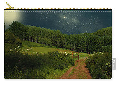 Hazy Moon Meadow Carry-all Pouch