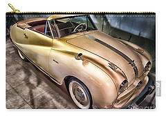 Carry-all Pouch featuring the photograph Hdr Classic Car by Paul Fearn