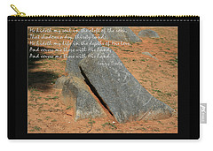 He Hideth Me In The Cleft Fanny Crosby Hymn Carry-all Pouch