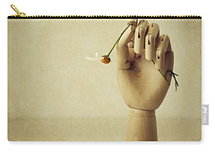 He Loves Me Not Carry-all Pouch by Amy Weiss
