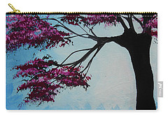 Carry-all Pouch featuring the painting He Sees Me In The Dark by Dan Whittemore