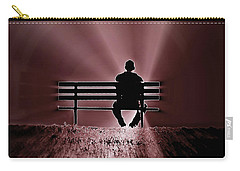 Carry-all Pouch featuring the photograph He Spoke Light Into The Darkness by Micki Findlay