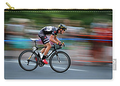 Carry-all Pouch featuring the photograph Heading For The Finish Line by Kevin Desrosiers