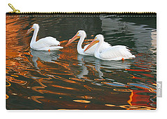 Carry-all Pouch featuring the photograph Heading Home by Roger Rockefeller
