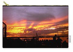 Headlights Of Sunset Carry-all Pouch