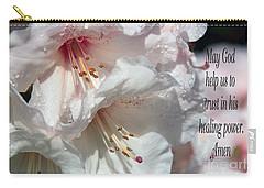 Carry-all Pouch featuring the photograph Healing Power by Jean OKeeffe Macro Abundance Art