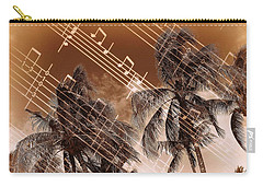 Hear The Music Carry-all Pouch by Athala Carole Bruckner