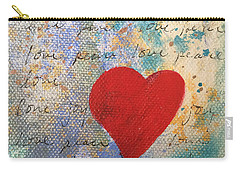 Heart #9 Carry-all Pouch