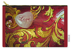 Put A Little Love In Your Heart - Romantic Images - Photography Carry-all Pouch