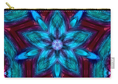 Heart Flower Carry-all Pouch