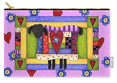 Heart For Ewe Carry-all Pouch