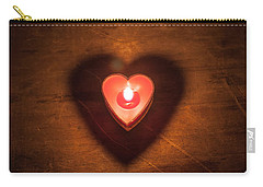 Heart Light Carry-all Pouch by Aaron Aldrich