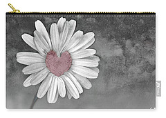 Heart Of A Daisy Carry-all Pouch