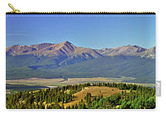 Heart Of The Sawatch Panoramic Carry-all Pouch by Jeremy Rhoades