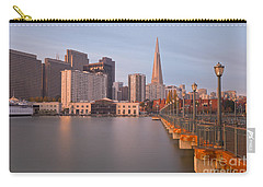 Carry-all Pouch featuring the photograph Heart San Francisco by Jonathan Nguyen