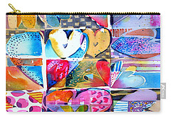 Heart Throbs Carry-all Pouch