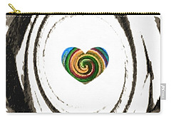 Heart Within Carry-all Pouch by Catherine Lott