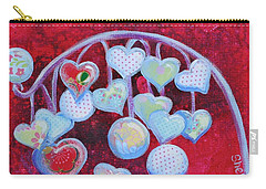 Hearts Don't Grow On Trees Carry-all Pouch