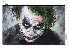 Heath Ledger The Dark Knight Carry-all Pouch
