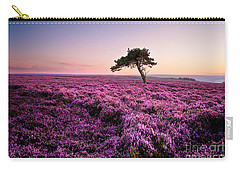 Heather At Sunset Carry-all Pouch