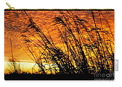 Sunset Heaven And Hell In Beaumont Texas Carry-all Pouch by Michael Hoard