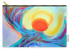 Heaven Sent Digital Art Painting Carry-all Pouch by Robyn King